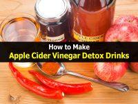 How to Make Apple Cider Vinegar Detox Drinks