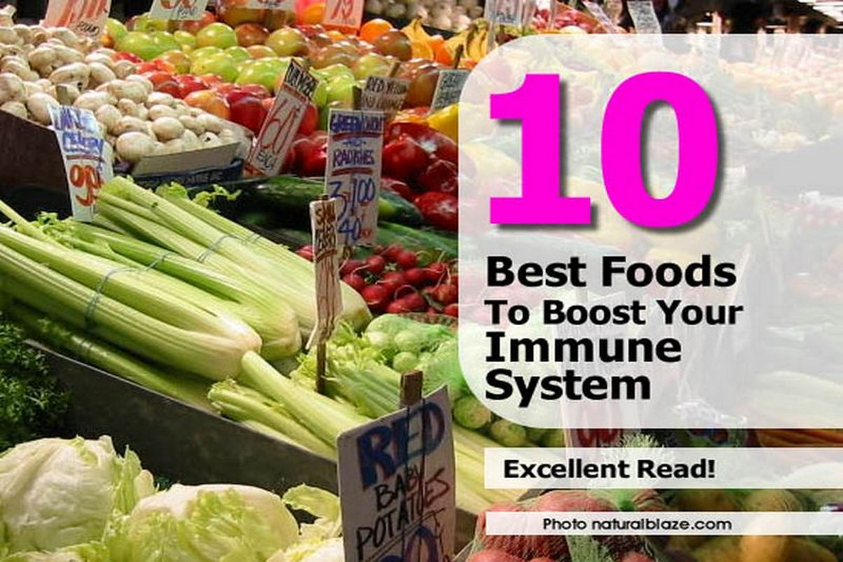 Before And After With Foods That Build Up Your Immune System