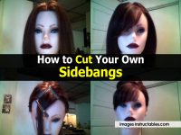 How to Cut Your Own Sidebangs