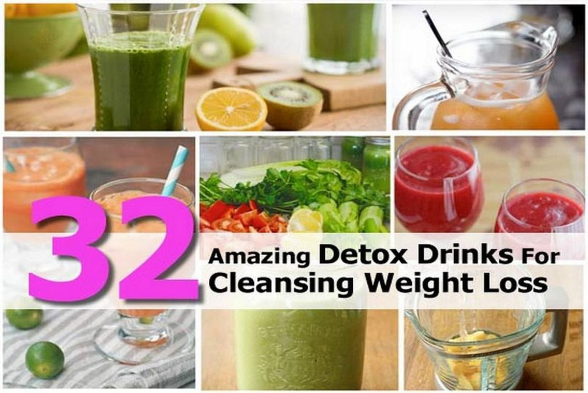 32 amazing detox drinks for cleansing weight loss for Cocktail detox