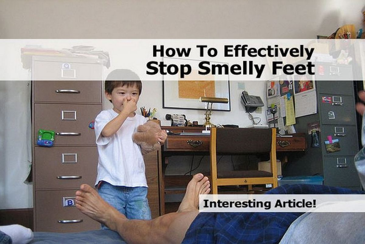 Stop Smelly Feet 105