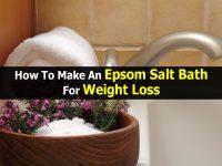 How To Make An Epsom Salt Bath For Weight Loss