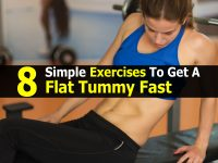 8 Simple Exercises To Get A Flat Tummy Fast
