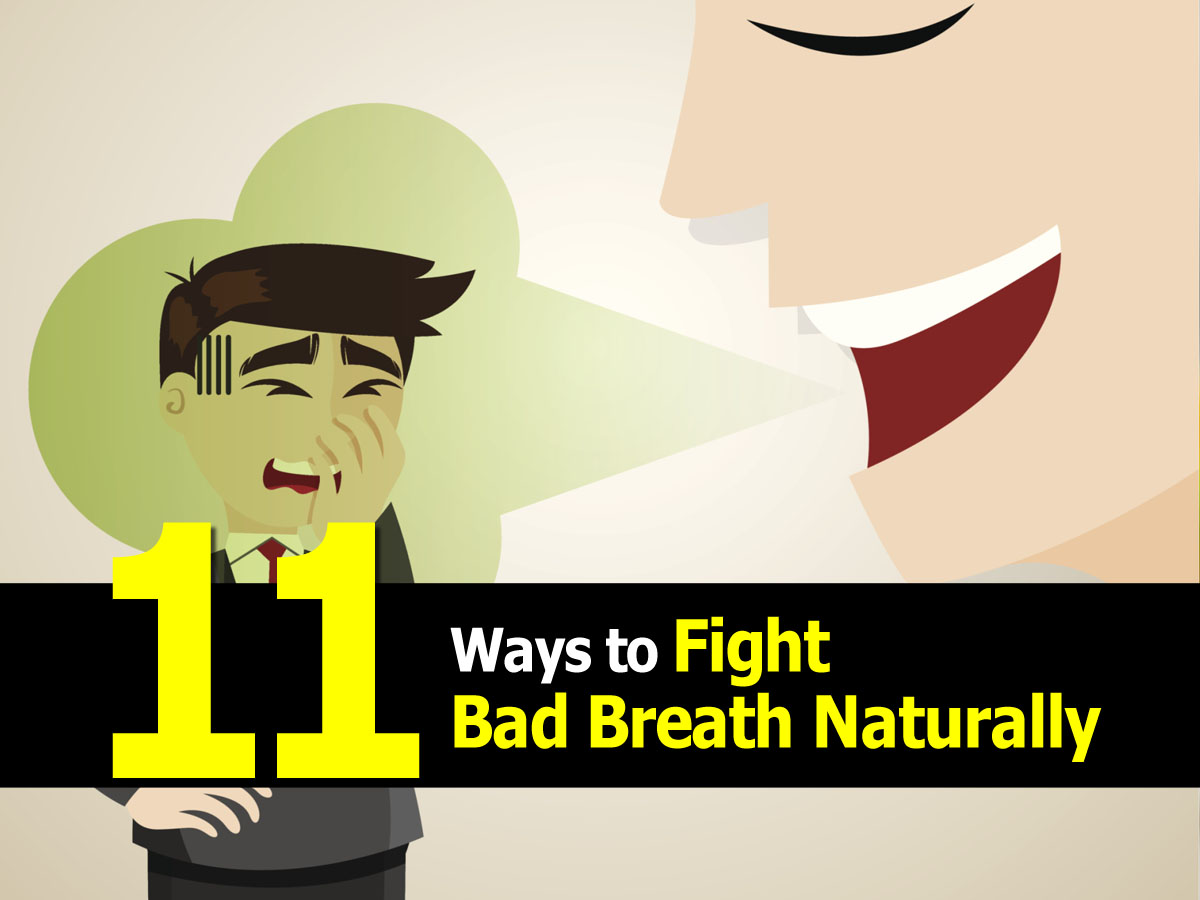 Treating Dogs Bad Breath Naturally