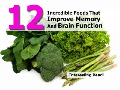 Vitamins for memory enhancer