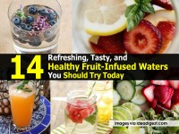 14 Refreshing, Tasty, and Healthy Fruit-Infused Waters You Should Try Today