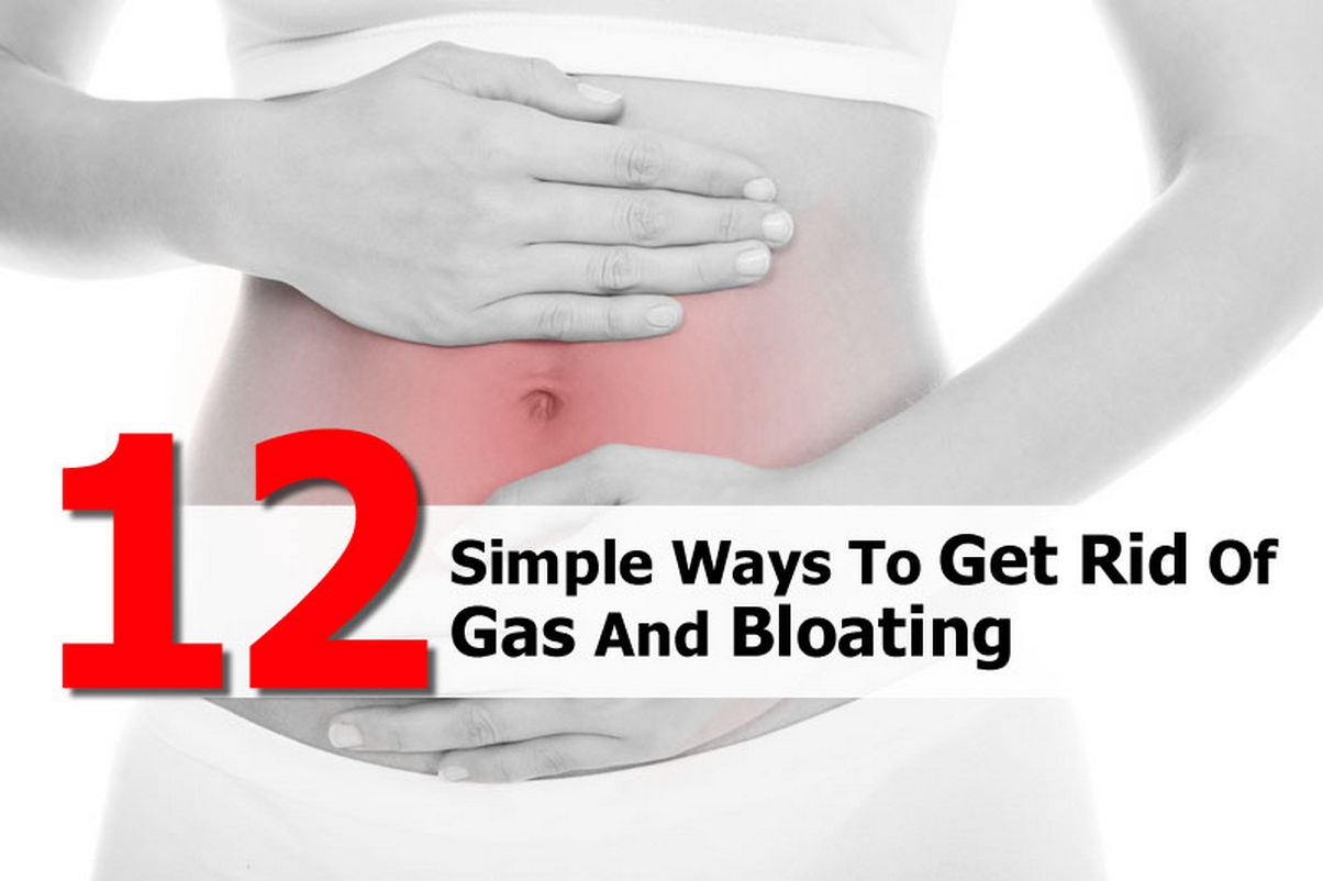 12 Ways to Get Rid of Gas and Bloating - Gases in stomach is a natural part of life. But excessive gas can be terribly embarrassing. Here are 12 ways you can use to get rid of gas and bloating.