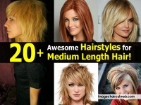 20+ Awesome Hairstyles for Medium Length Hair!