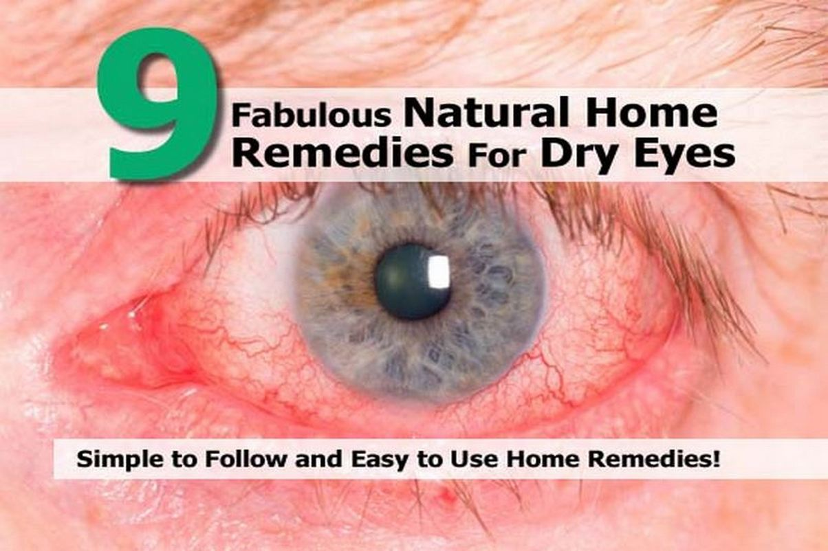 Natural remedies for dry eyes at night