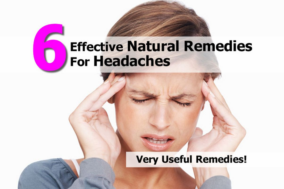 6 effective natural remedies for headaches. Black Bedroom Furniture Sets. Home Design Ideas