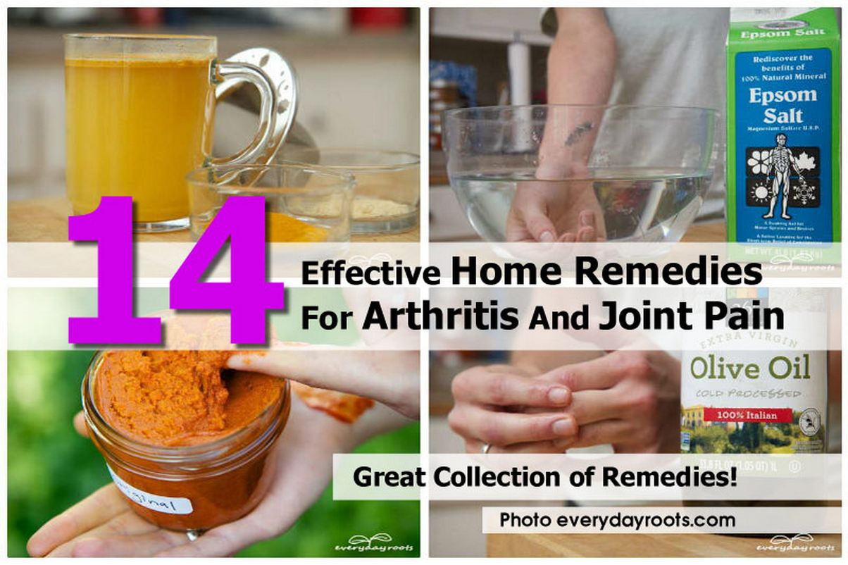 14 Home Remedies for Arthritis and Joint Pain  -  We take the freedom of movement for granted, until it becomes limited. The cause of this for many people comes in the form of arthritis, or the inflammation of one or more of your joints. Here are some home remedies for arthritis to manage the pain and ease the symptoms naturally.