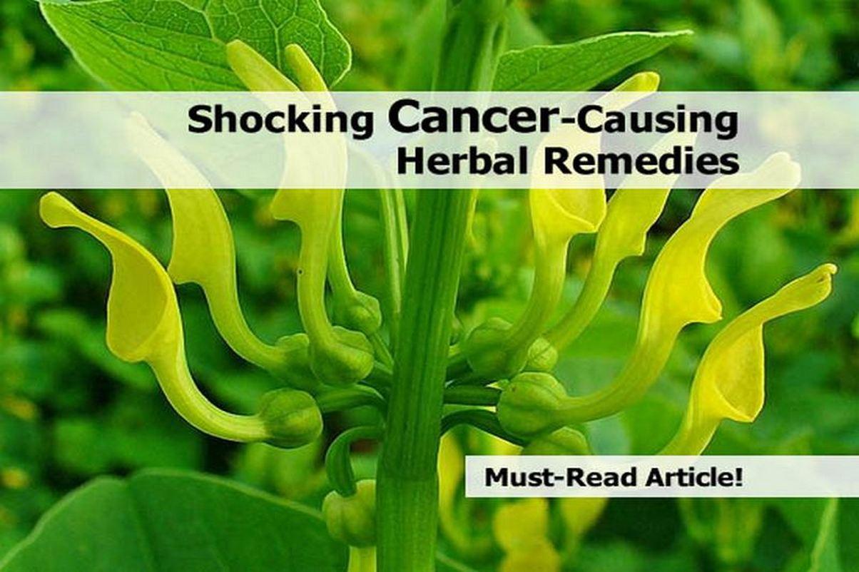 Shocking Cancer-Causing Herbal Remedies