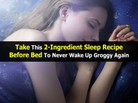 Take This 2-Ingredient Sleep Recipe Before Bed To Never Wake Up Groggy Again