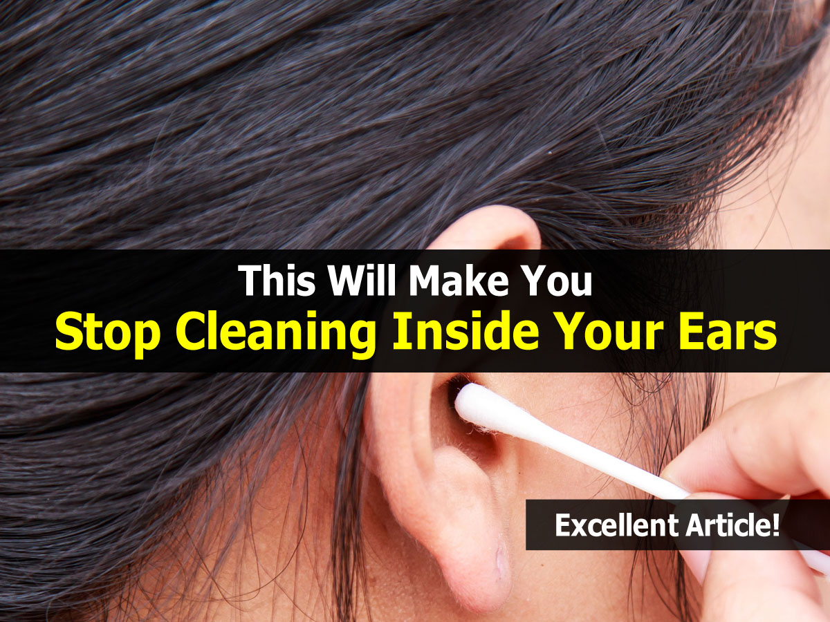 how to clean your ears of wax with peroxide