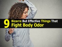 9 Bizarre But Effective Things That Fight Body Odor