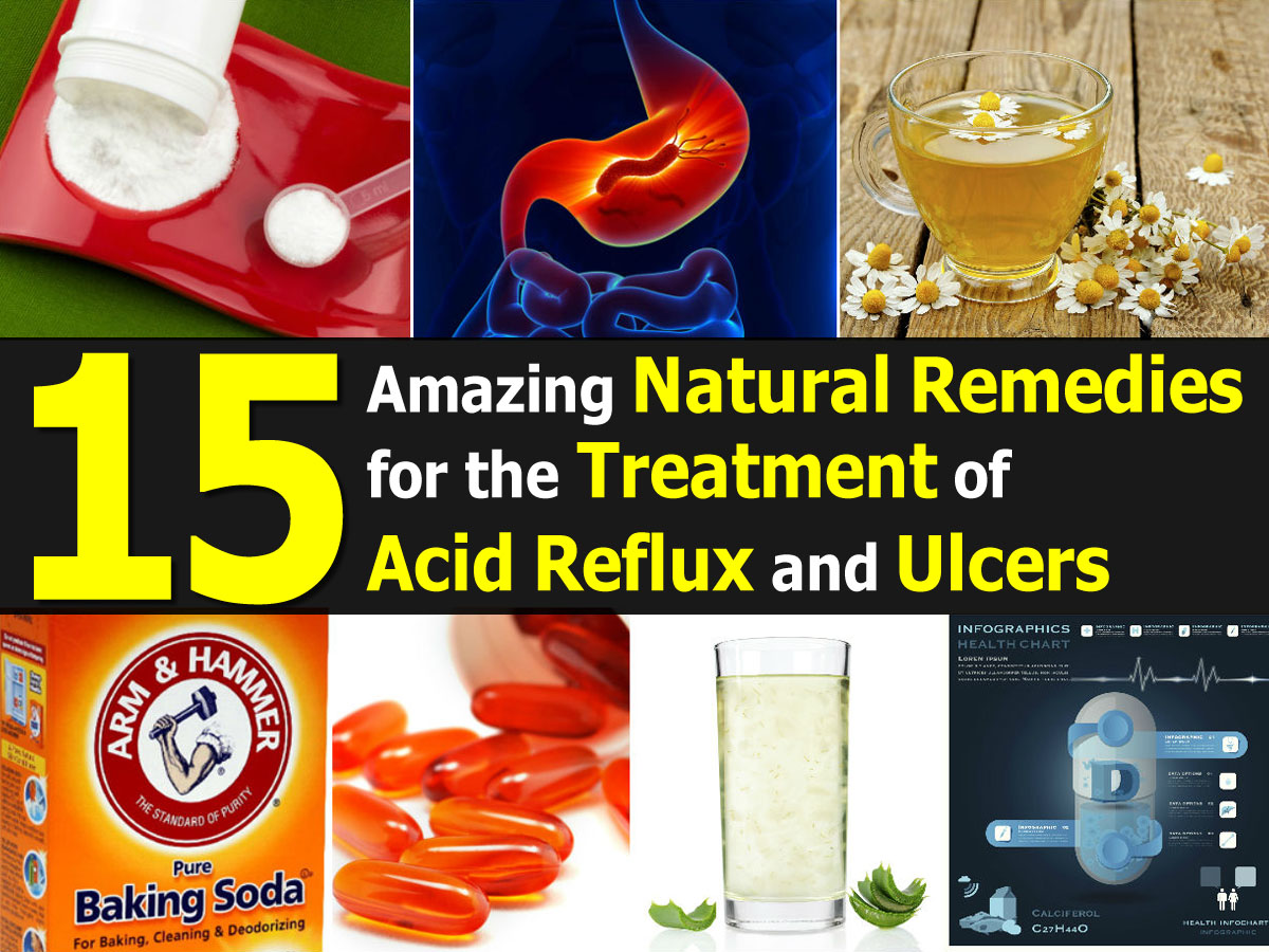 Natural Ways To Decrease Acid Reflux