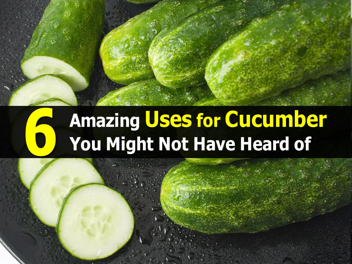 6 Amazing Uses For Cucumber You Might Not Have Heard Of