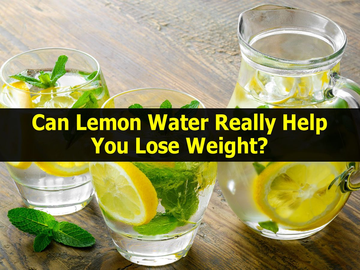 fast weight loss with lemon water