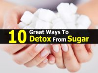10 Great Ways To Detox From Sugar