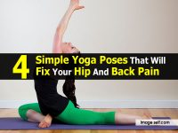4 Simple Yoga Poses That Will Fix Your Hip And Back Pain